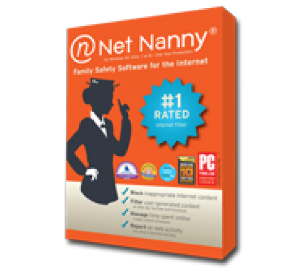 Net Nanny provides a content-control software marketed primarily towards parents as a way to monitor and control their child's computer activity. The software allows a computer owner to block and filter Internet content, place time limits on use, and block desktop PC games.